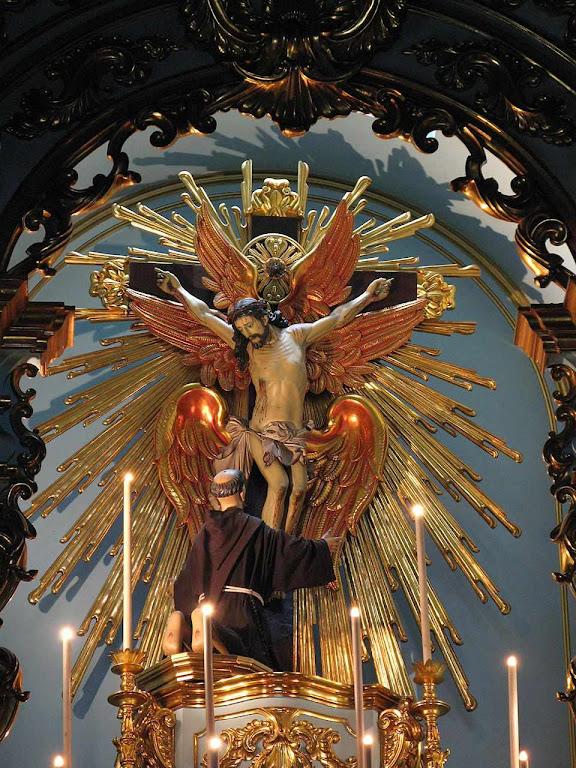 São Francisco, altar mor  Igreja da Ordem Terceira franciscana, São Paulo