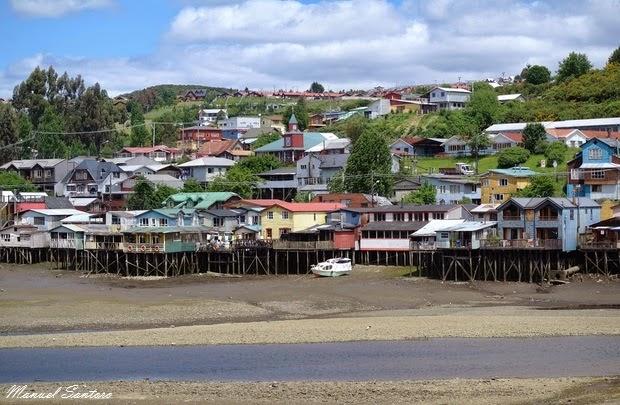 Castro, panorama dal Puente Gamboa