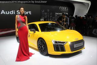 Auto Expo 2016 By Soulsteer Virat Kohli Alia Bhatt Amp Ceo Joe King Launched Audi R8 V10 Plus