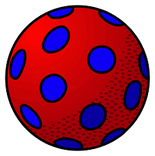 ball clipart coloring
