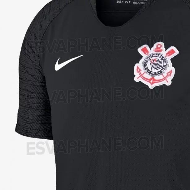 Site vaza possíveis novos uniformes do Corinthians em 2018  veja ... 972e293210e4b