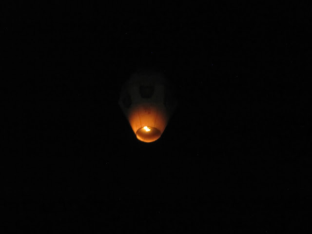our chinese lantern flying away pingxi sky lantern festival taiwan