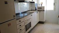 apartamento en alquiler playa els terrers benicasim cocina