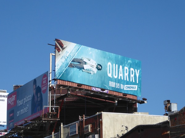 Quarry season 1 billboard