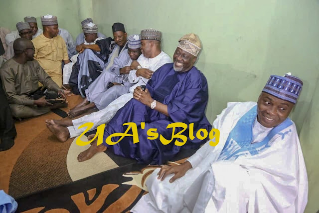 PHOTOS: Saraki steps into father's shoes, becomes new Wazirin Ilorin