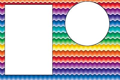 Resultado de imagem para convite  arco iris