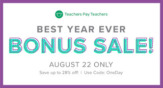TpT Sale, Workshop Classroom!