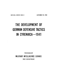 The Development of German Defensive Tactics in Cyrenaica
