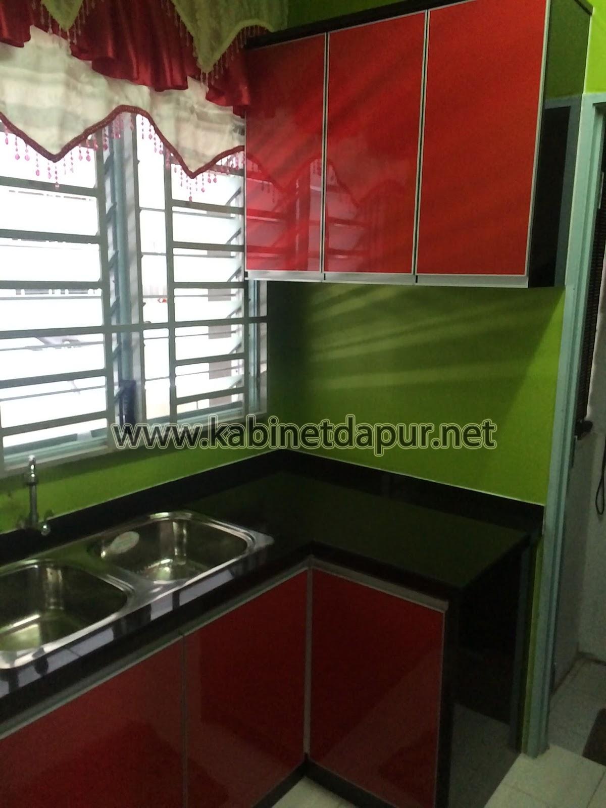 Kabinet Dapur Rumah Flat Desainrumahid Com