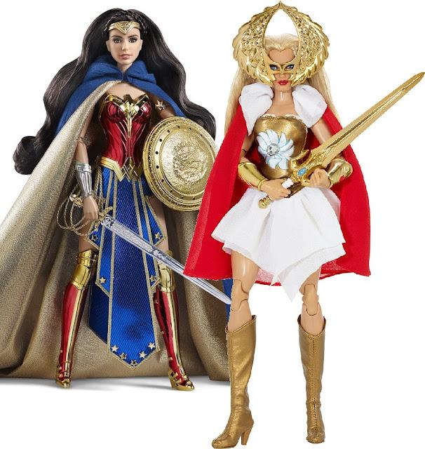 Mattel apresenta a Mulher Maravilha e She-Ra em versões Barbie!