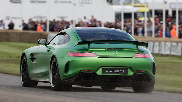 Mercedes-AMG GT R makes public debut at the Goodwood Festival of Speed