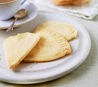 orange shortbread cookies recipe