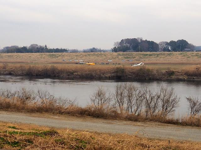 江戸川 グライダー 滑空場