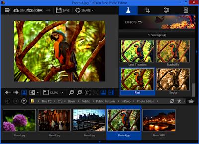تحميل برنامج التعديل على الصور مجانا InPixio Free Photo Editor