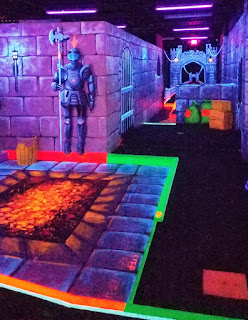 Dragon's Lair Mini Golf course in North Wildwood, New Jersey. Photo by Adam Lueb, 2018