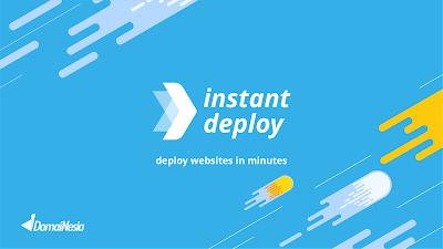 Tukangtik.com -- Mulai buat websitemu dengan Instan Deploy DomaiNesia