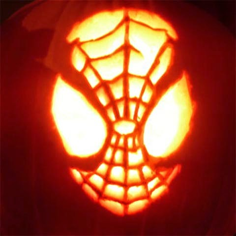 Spiderman Pumpkin Template Crazywidow Info