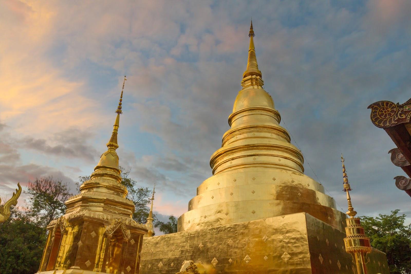 Wat Phra Singh Temple, Chiang Mai Thailand