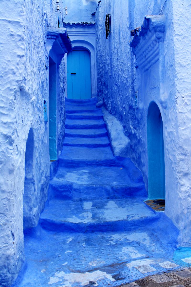 Viaje al pueblo azul de Chaouen (Marruecos) | hampton sc