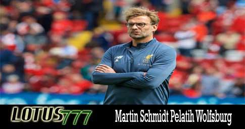 Martin Schmidt Pelatih Wolfsburg