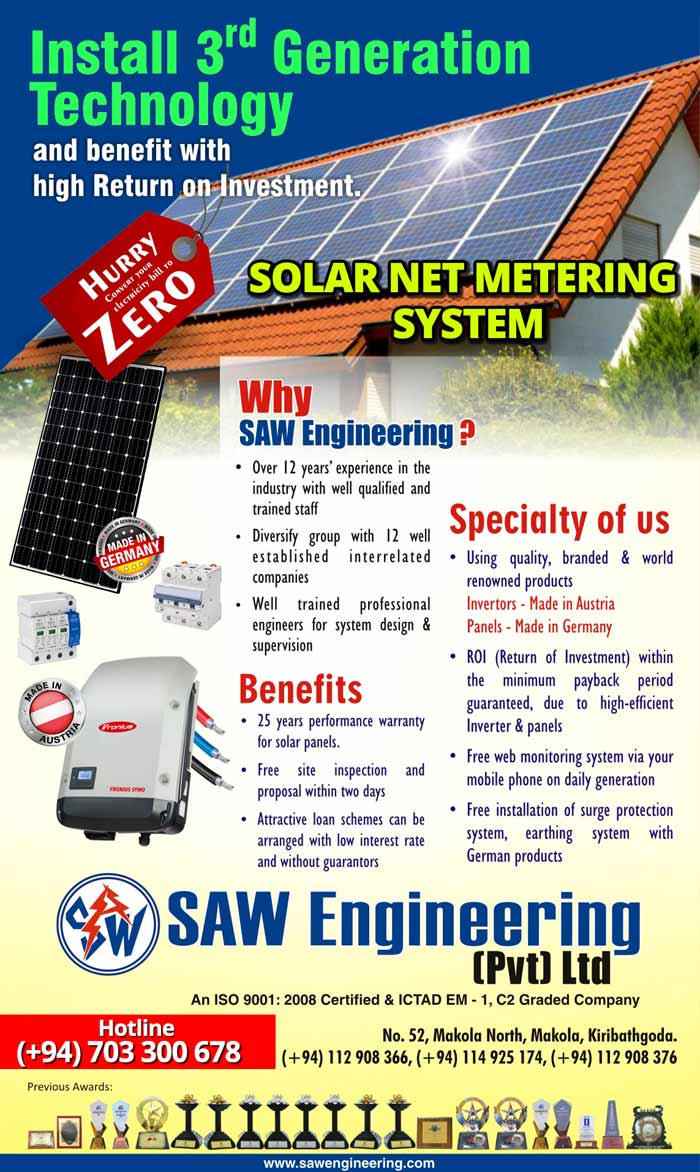 SAW Engineering | Convert Your Electricity Bill to Zero.