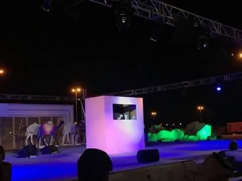مهرجان ولي العهد للابل يعرض مسرحيتي العرائس الجمل الطيب وارنوب