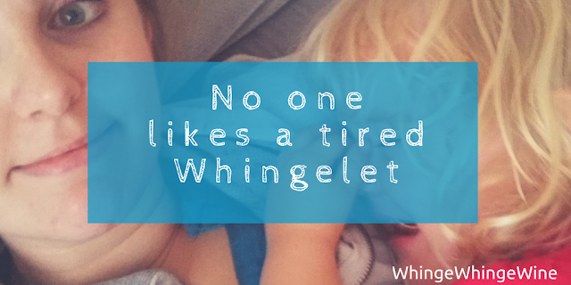 No one likes a tired toddler: Tantrums
