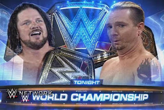 SmackDown no chin WWE championship AJ STYLES James Ellsworth