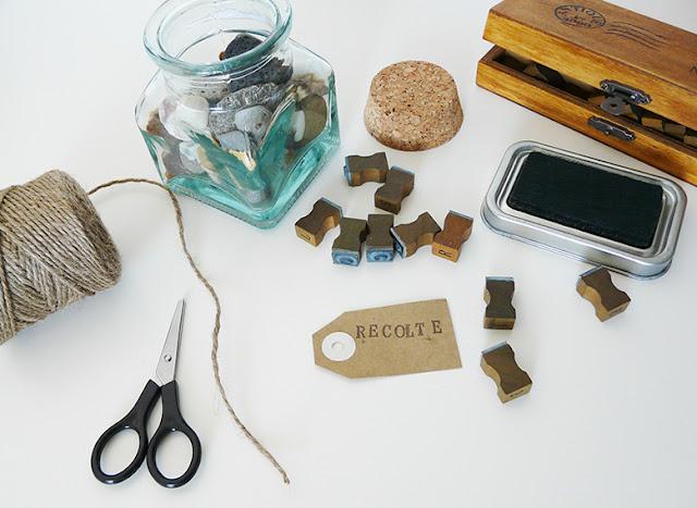 DIY bocal à souvenirs