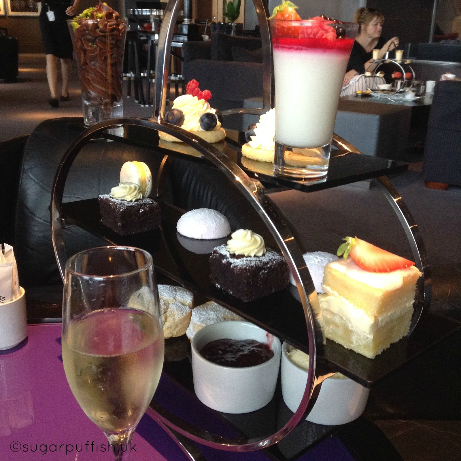 Afternoon Tea Vegan and Gluten Free at The Aviator Hotel in Farnborough