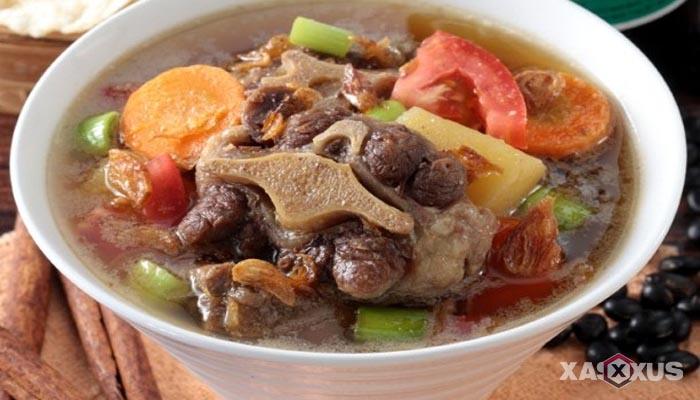 Resep cara membuat sayur sop buntut