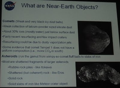 NASA Near Earth Objects Program