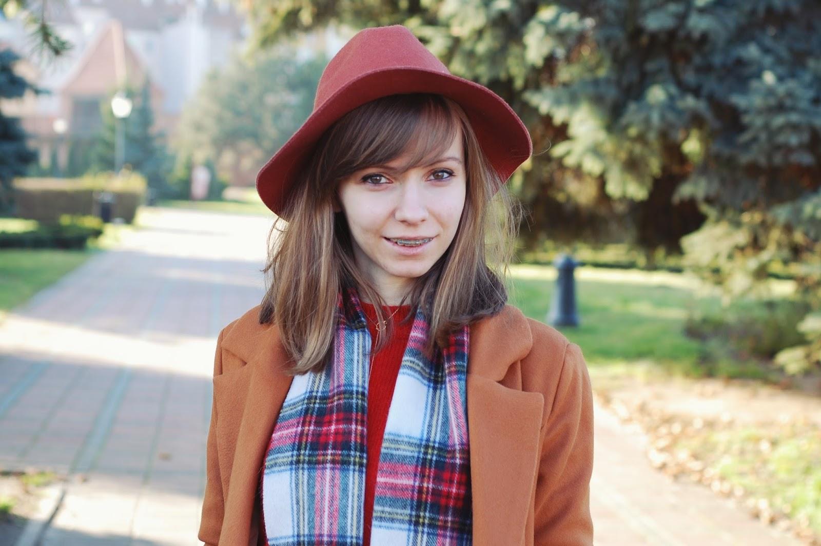 Stylizacja w kolorach jesieni