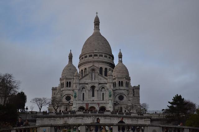 Sacre Coeur in Monmartre