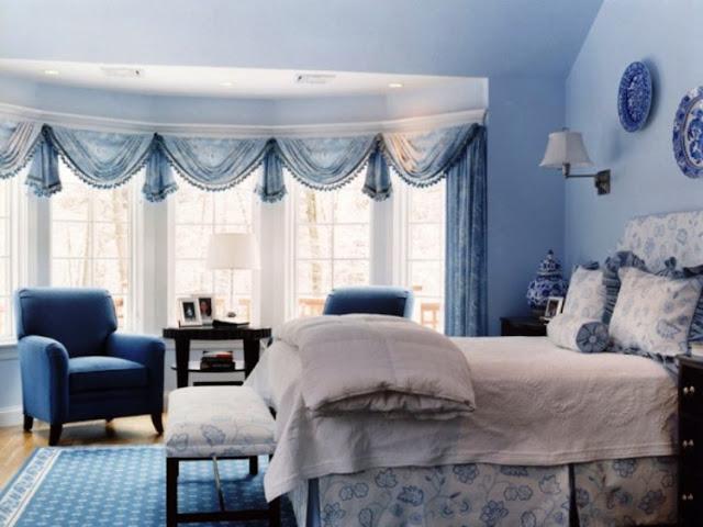 Luxury Blue Bedroom