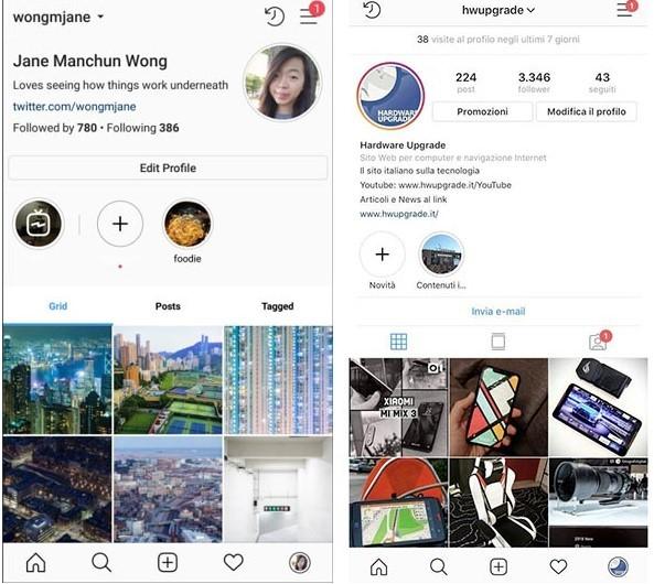 instagram new yeni sayfa page