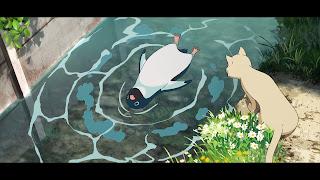 Pingwin w wodzie