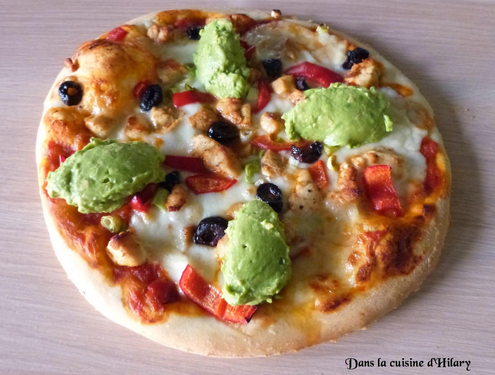Pizza façon fajita