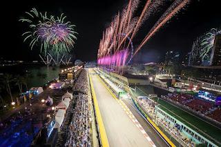 F1 race Singapore