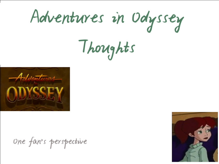 Adventures In Odyssey Thoughts Bernard Tom And Other