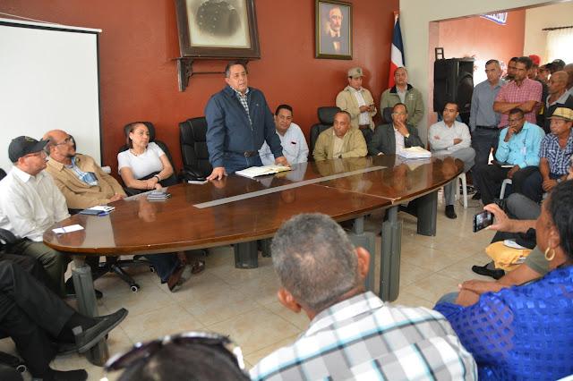 Seguimiento a Visita Sorpresa: director IAD se reúne con productores de Luperón, Puerto Plata
