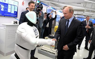 Vladimir Putin, Robot