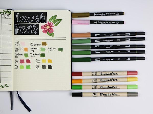 Bullet Journal - Stifte