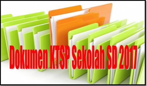Dokumen KTSP Sekolah SD 2017