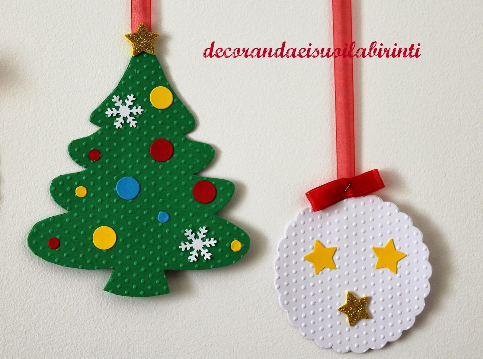 Decorandaeisuoilabirinti addobbi natalizi per aula for Addobbi natalizi scuola primaria