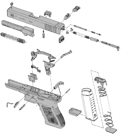 the anarchangel : how to make a glock not suck glock 27 exploded parts diagram glock diagram #6