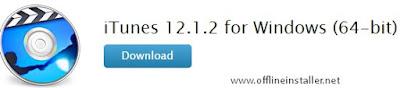 iTune 64bit and 32bit offline installer