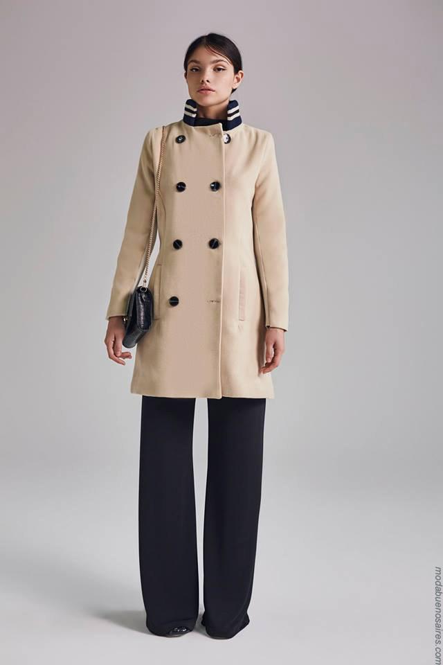 Moda otoño invierno 2019 ropa de mujer elegante y femenina.Tapados invierno 2019.