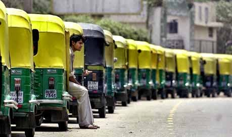 Auto taxi unions Delhi, Strike, Nation wide Strike, Strike of buses, Strike od auto rikshaw, Strike in Delhi