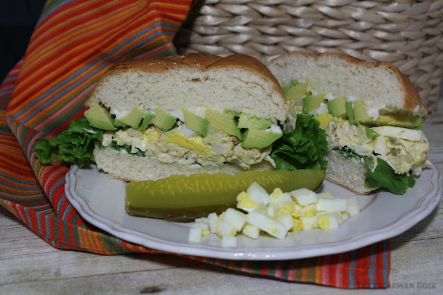 chicken, egg salad, avocado,
